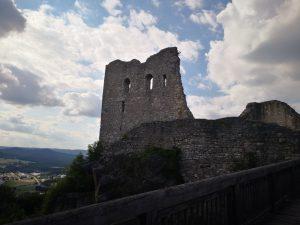 Die Burgruine Wolfstein in Neumarkt in der Oberpfalz